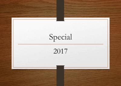 2017 Special