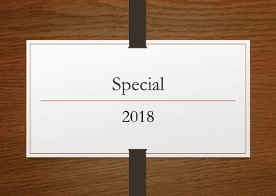 2018 Special