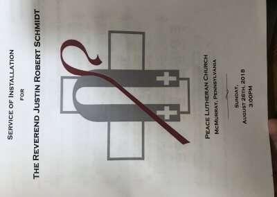 PastorSchmidtInstallation-Bulletin1