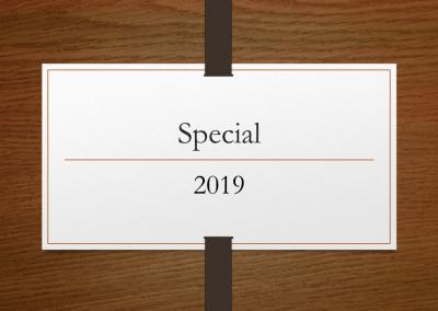 2019 Special